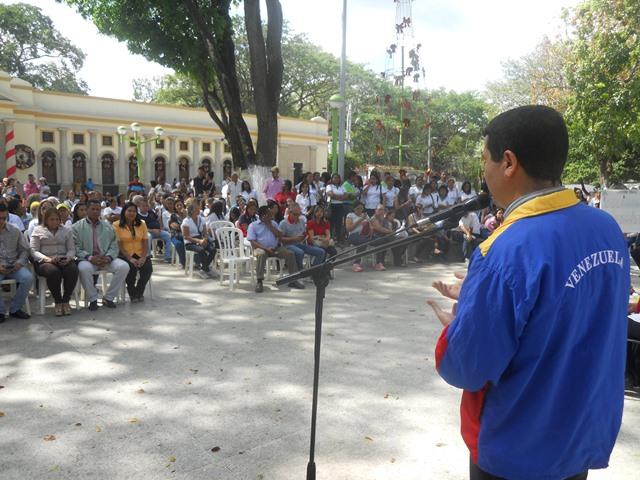 Profesor Leonardo Hurtado, Gerente Nacional del Programa Simón Bolívar ratificó el compromiso social del Sistema de Orquestas y Coros Juveniles e Infantiles frente a las autoridades guariqueñas