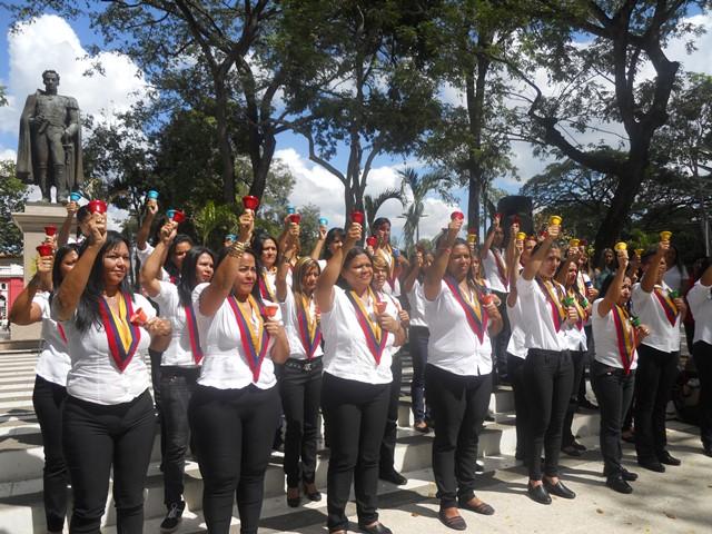 Docentes del municipio Roscio incorporadas al Proyecto de Socialización de la Práctica Colectiva de la Música del Sistema de Orquestas y Coros de Guárico