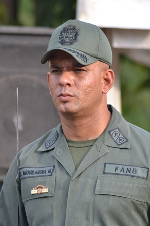 El Teniente Coronel Edinsson Miquilarena Marcano informó que el procedimiento se hizo en el punto de control de Guayabal