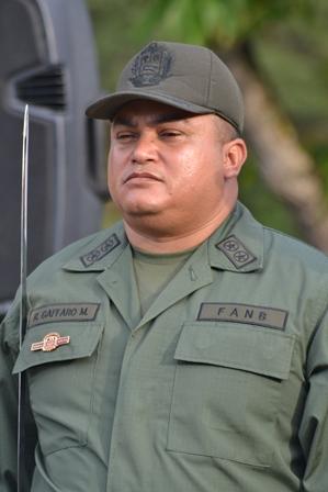 El Teniente Coronel Ruddy Gaffaro Mirelles aportó los datos del procedimiento