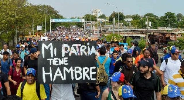 """El hambre en Venezuela es una """"bomba de tiempo"""""""