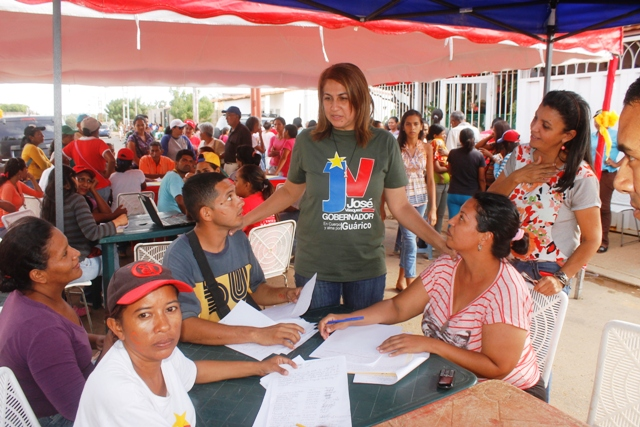 En Villas de Sol participaron de la consulta nacional del Plan de la Patria