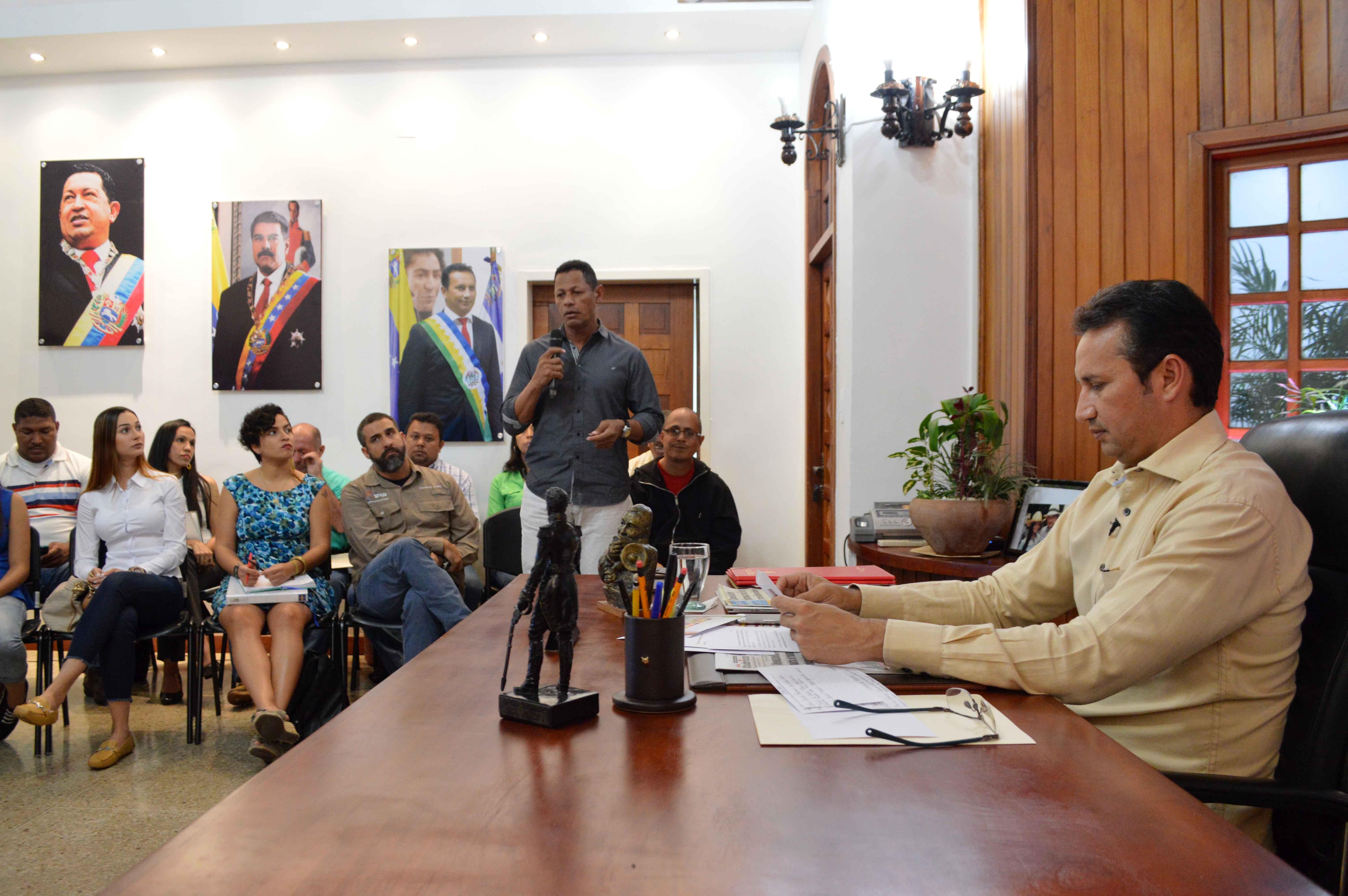 Gobernador, dio a conocer como autoridad única en educación para el estado Guárico José Muñoz mediante su alocución