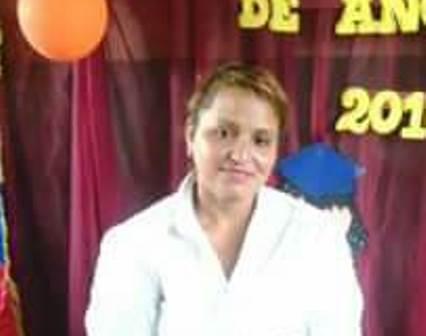 La mujer trabajaba como maestra en la escuela de Potrerito,.