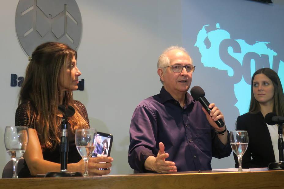 Intervención humanitaria para Venezuela, pidió Antonio Ledezma