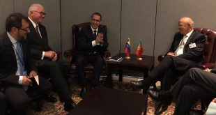 Venezuela y Portugal logran acuerdos