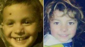 Tiziano Vicente (5) y Kevin García (4) fueron encontrados muertos dentro de un refrigerador.
