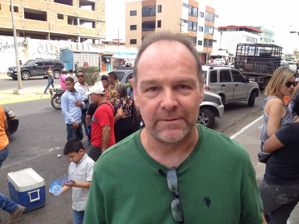 Juan Vernet, representante de los distribuidores de queso, carne, leche y otros rubros llaneros.