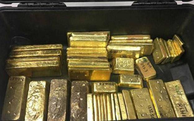 Venezolano que llevaba 46 lingotes de oro fue detenido en aeropuerto de Aruba