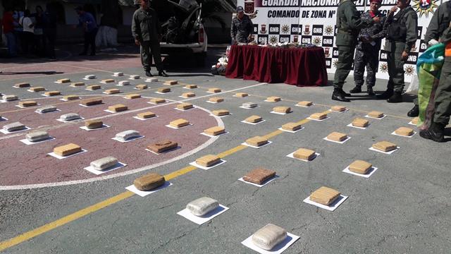 120 panelas de marihuana decomisada a un Teniente Coronel de la GNB, jefe de personal en la Zodi de Apure