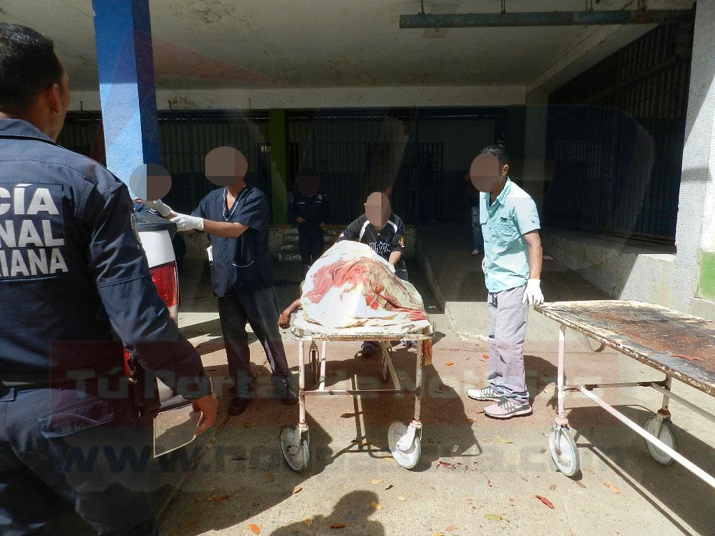 Los cuerpos fueron trasladados a la morgue del hospital Dr. Rafael Zamora Arevalo