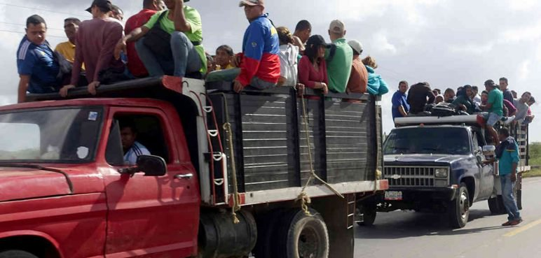 Por 150 trochas emigran los venezolanos