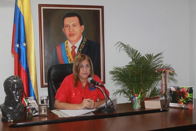 La alcaldesa Nidia Loreto dio a conocer detalles sobre el plan de trabajo