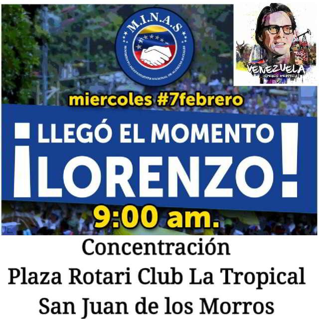 En Guárico, claman a Lorenzo Mendoza como candidato presidencial