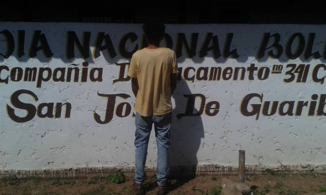 Solicitado detenido por la GNB