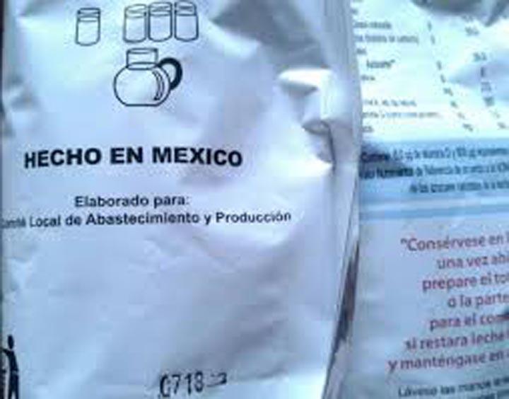 Carecen del aporte minímo de proteínas las distintas versiones de leche en polvo que traen las cajas Clap