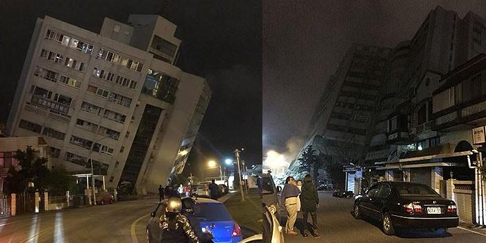 Dos muertos y mas de 150 heridos, deja sismo en Taiwán