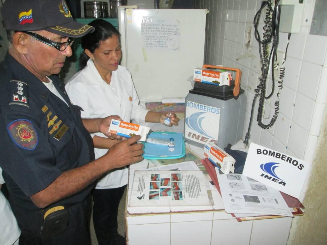 El suero fue aplicado en el hospital Dr. Rafael Zamora Arevalo