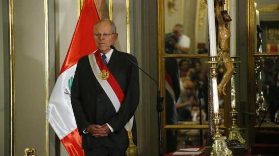 El presidente de Perú Pedro Pablo Kuczynski renuncio a su cargo la tarde de este miercoles