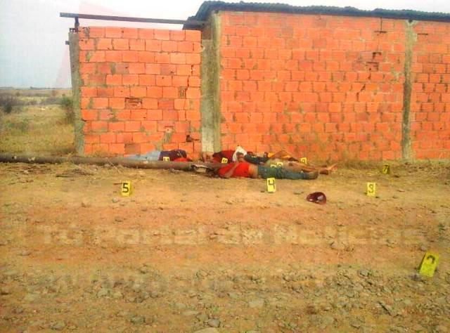 Los seis cuerpos fueron encontrados muertos con tiros en la cabeza