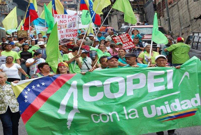 Partido Social Cristiano Copei impugnara candidatura de Henri Falcón