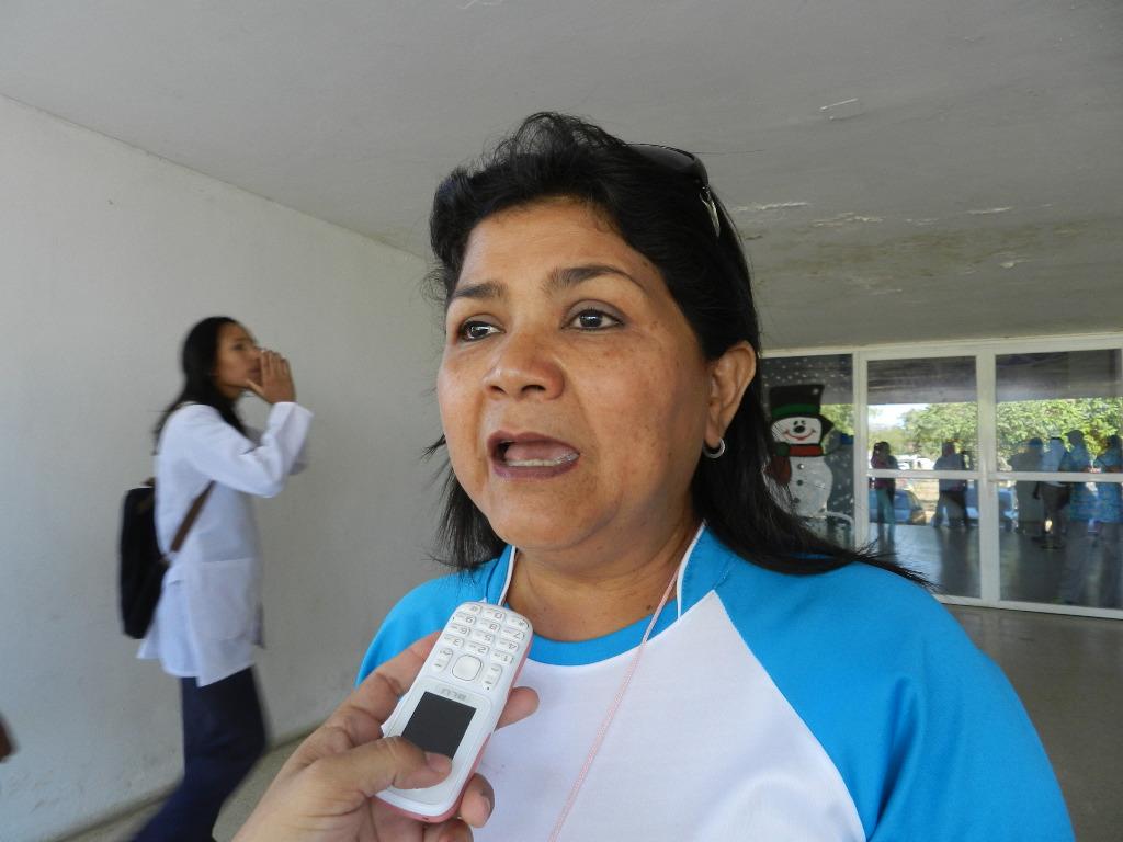 Nellive Padilla, vicepresidenta del colegio de enfermeros profesionales de Valle de la Pascua