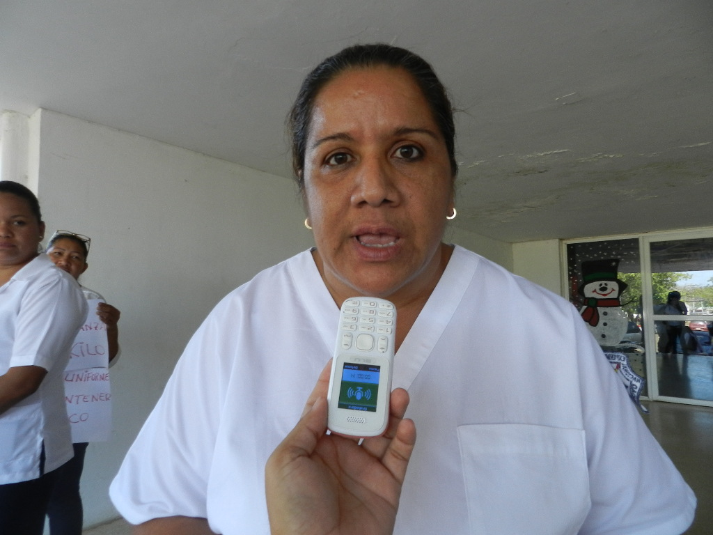 Licenciada en enfermeria Olga Morales