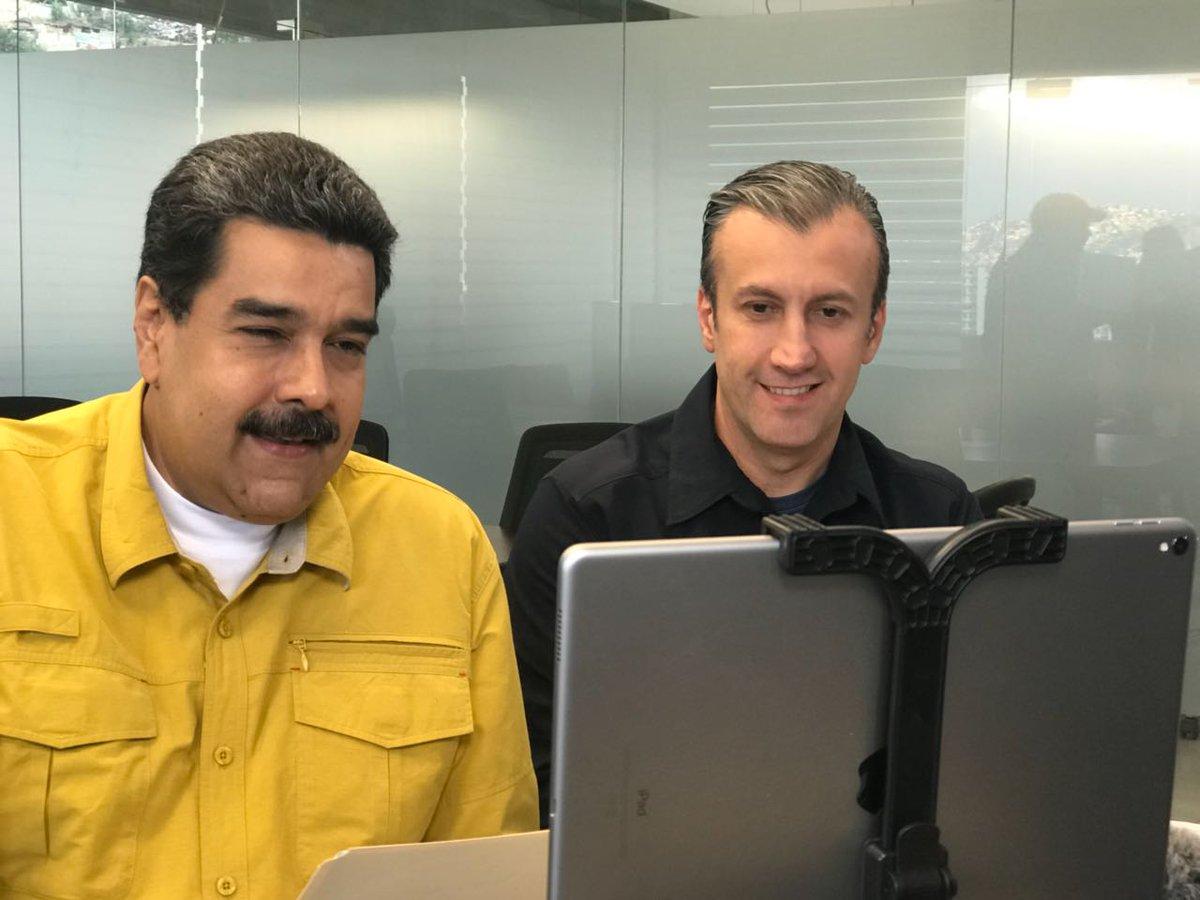 El anuncio fue dado por el presidente Nicolas Maduro junto al vicepresidente Tareck El Aissami por una transmisión de Facebook Live