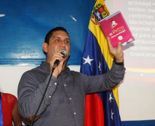 """Enrique Ramos, """"Esta moneda virtual traerá mejores niveles de vida y gracias al Presidente obrero Nicolás Maduro Moros"""""""