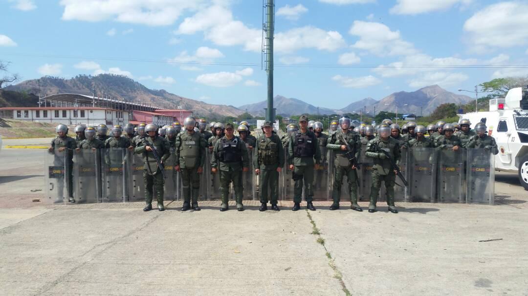 Esta instrucción fue organizada por la Guardia Nacional Bolivariana cumpliendo las directrices