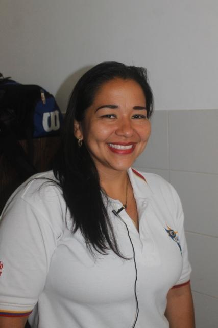 Iris Velásquez, coordinadora estadal del programa salud visual