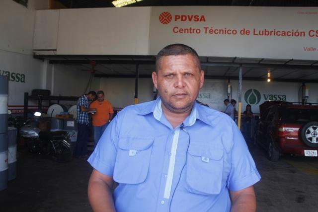 """Jorge Palacios, """"Estamos satisfechos y agradecemos a la alcaldesa Nidia Loreto y al gobernador José Vásquez por el cambio de aceite"""""""