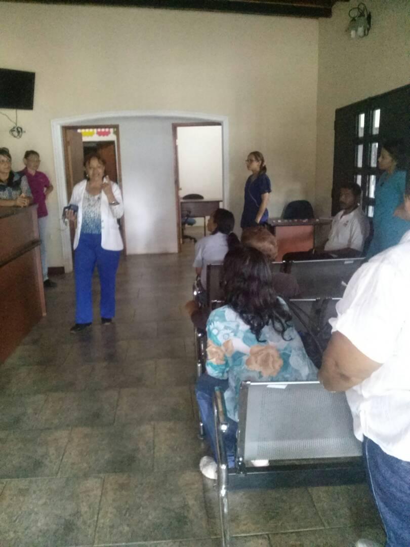 La Alcaldía Bolivariana de Infante a través de la dirección de Desarrollo Social brinda atención oportuna en materia de salud