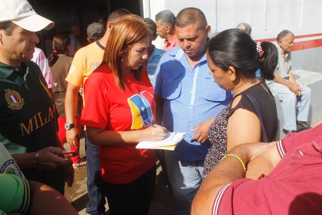 La alcaldesa Nidia Loreto le cumple al gremio del transporte público