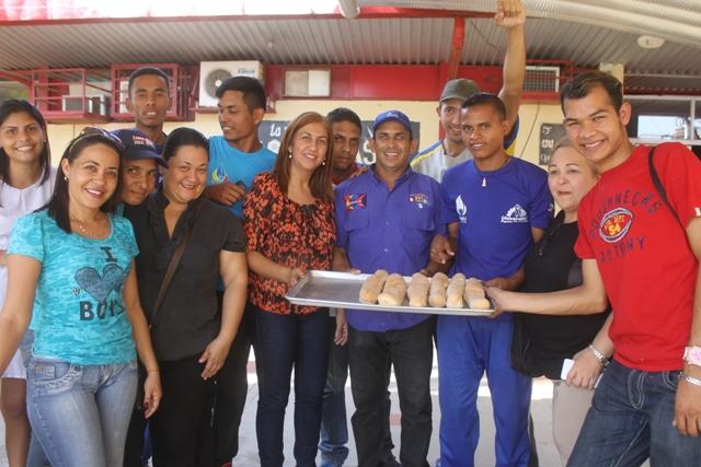 La alcaldesa Nidia Loreto realizó la inspección