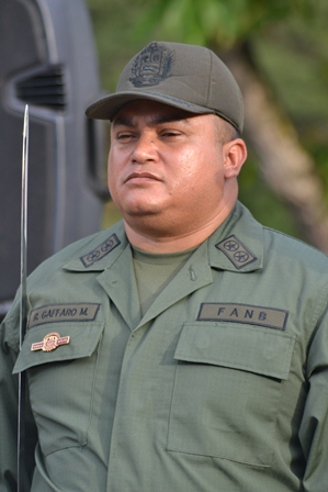 La información la dio a conocer el Teniente Coronel Ruddy Gaffaro Mirelles