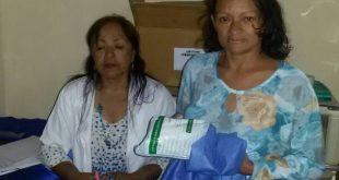 Las pacientes recibieron el servicio para el despistaje de cáncer de cuello uterino