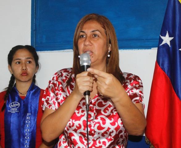 """Nidia Loreto, """"Continuaremos brindando esos conocimientos básicos a la juventud revolucionaria"""""""