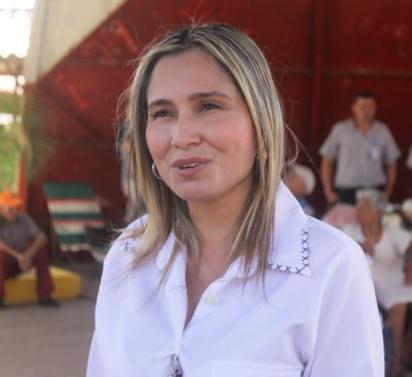 """Yenny Díaz, """"Junto a la gobernación y la alcaldía estamos uniendo esfuerzos para hacer un hermoso trabajo"""""""