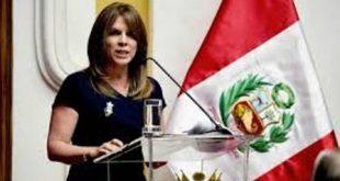 Ministra de Relaciones Exteriores Cayetana Aljovín