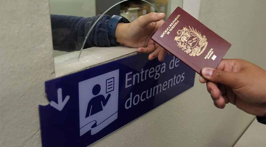Tramitar el pasaporte tendrá un valor de Bs 390.000