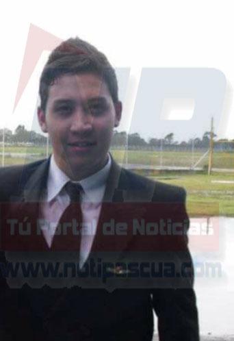 Ivan Dario Bucheli Delgado de 26 años.