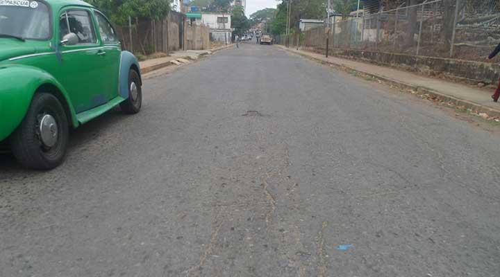 Calle Bolívar de Valle de la Pascua