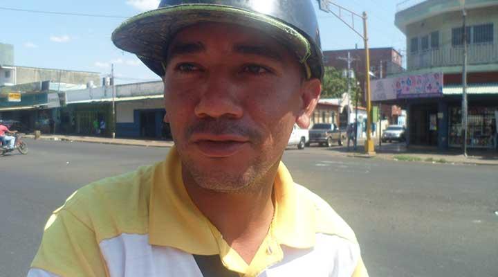 Jean Carlos Simoza se siente afectado