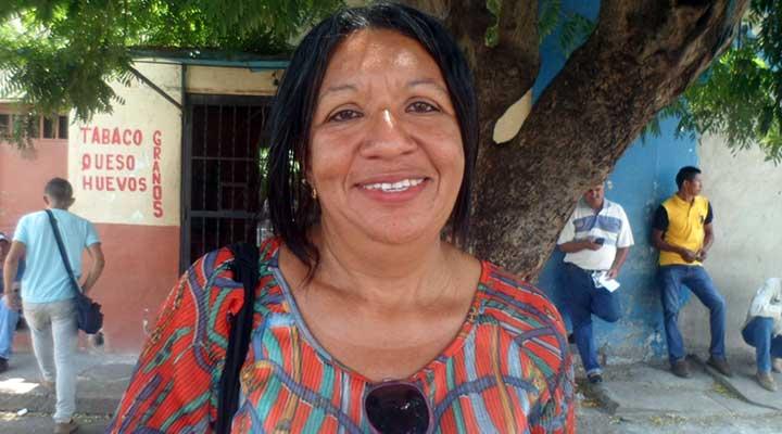 Mirla Medina el sueldo es insuficiente
