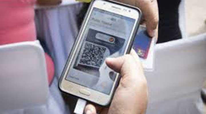 Ya todos pueden verificar por el modulo VeQr de su celular.