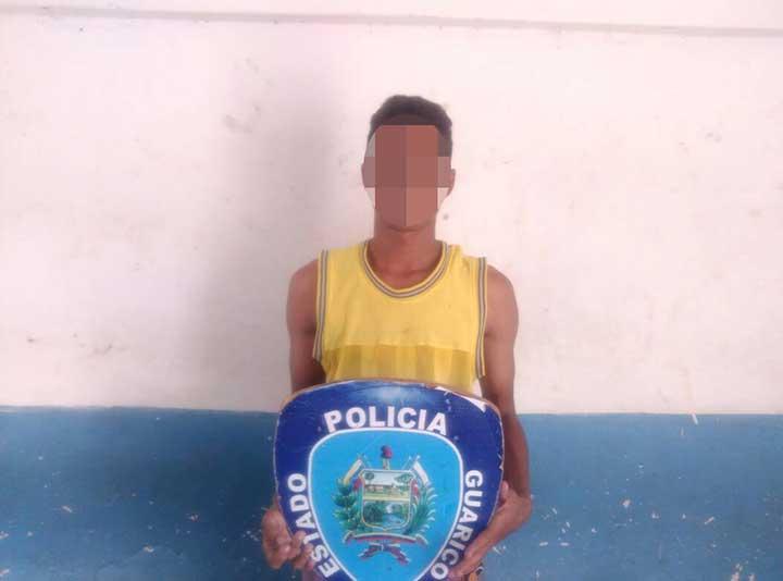 Lo capturaron con pistola deportiva en Las Acacias