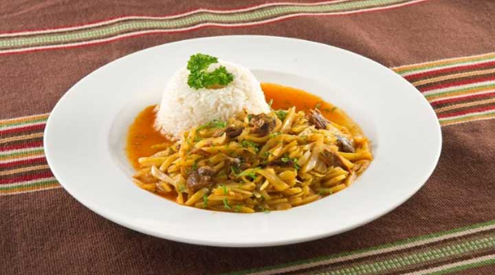 Rico plato tipico del Perú