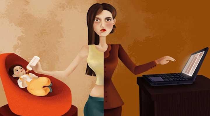 Muchas mujeres deben cumplir el doble rol.