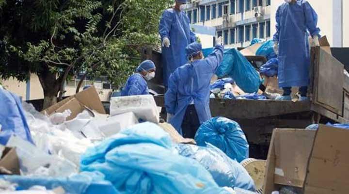 Gran cantidad de desechos sólidos fueron eliminados